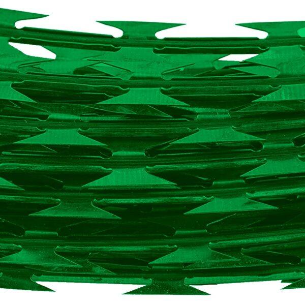 Concertina Verde 30Cm x 10Mts Simple Org. Nacional 02