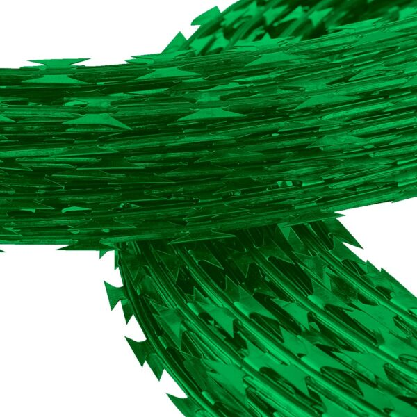 Concertina Verde 30Cm x 10Mts Simple Org. Nacional 03